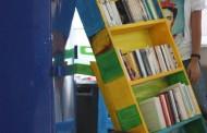 بالصور اول مكتبة متجولة في مستشفى الشارنيكول بالعاصمة التونسية