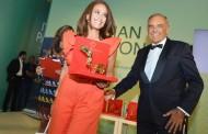 هند صبري  أول فنانة عربية تحصل على الجائزة  StarlightCinemaAward#