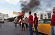 بالفيديو والصور : شاهد اندلاع حريق الآن بطريق المطار والاسباب مجهولة