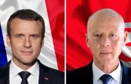 الرئيس الفرنسي يعبر لرئيس الجمهورية في اتصال هاتفي ،عن تفهمه عدم مشاركة تونس في مؤتمر برلين