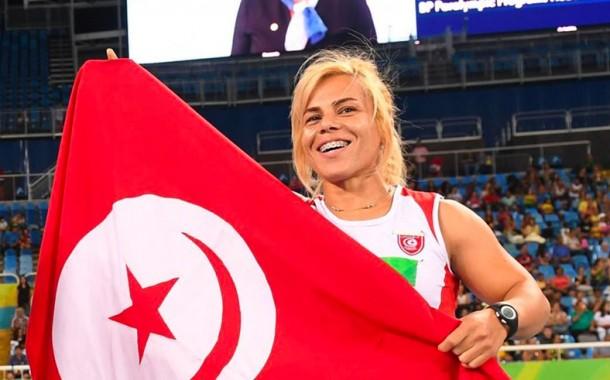 التونسية روعة التليلي تحطم الرقم القياسي وتحصل على الذهبية بارالمبياد طوكيو